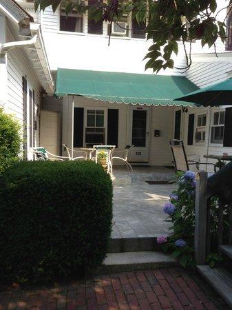 The Sunset Inn: inner patio