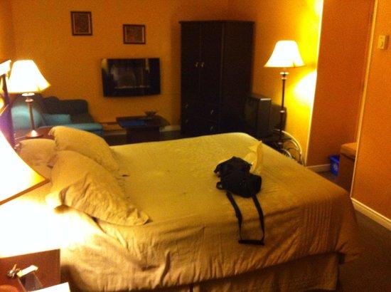 Motel Canadien : Chambre