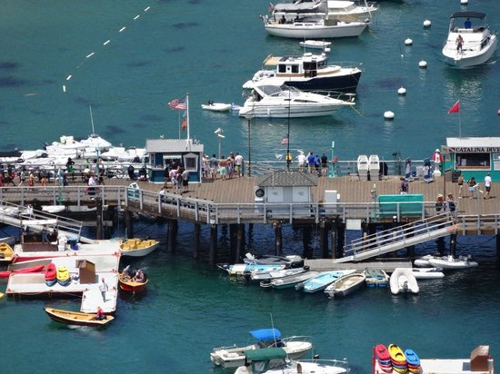 Catalina Island Visitor Center : The pier