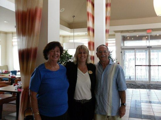 Hilton Garden Inn Minneapolis Eagan: Us with Patti Jo Greseth