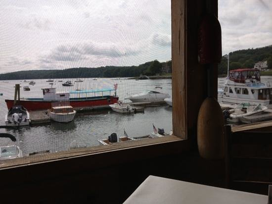 Schooner Landing Restaurant: view from our table