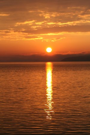 Holiday Inn Bar Harbor Regency: view in the morning