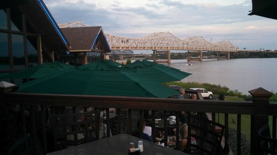 Ohio River and Bridge from Buckhead Mountain Grill