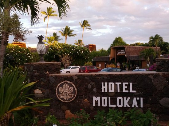 Hotel Molokai : Beautiful trees and flowers