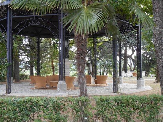 Castello di Spessa: Gazebo