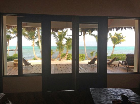 La Perla Del Caribe: view from the living room