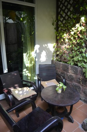 Alliance Boutique Villa: La terrasse