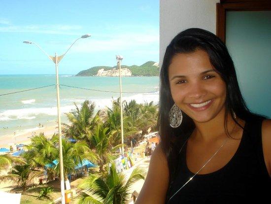 Araca Praia Flat Beira Mar: Da janela do quarto