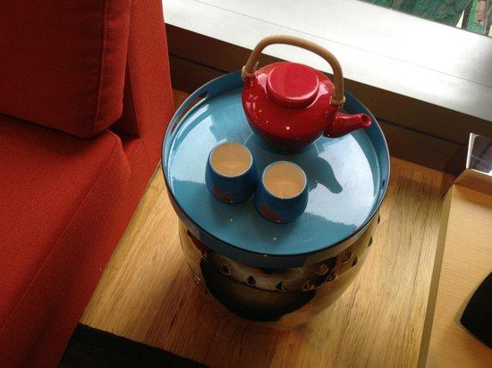 Hotel Indigo Hong Kong Island: tea...you can purchase it