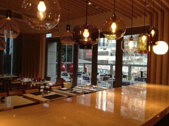Hotel Indigo Hong Kong Island: breakfast room