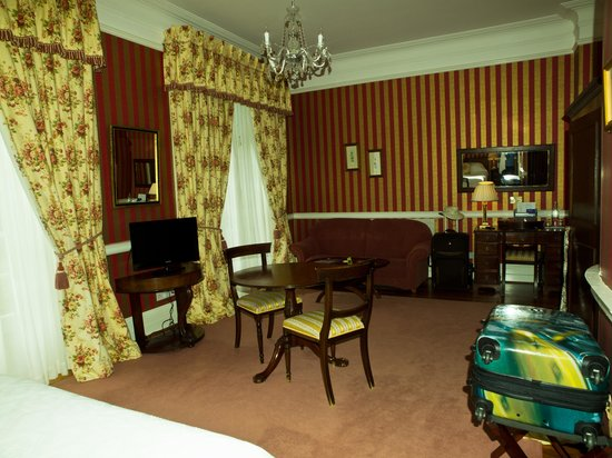 Dunbrody Country House Hotel: Our room