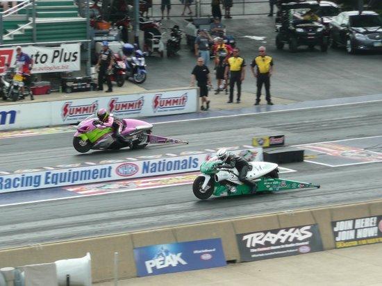 Summit Racing Equipment Motorsports Park: motorcycles too!!!!!
