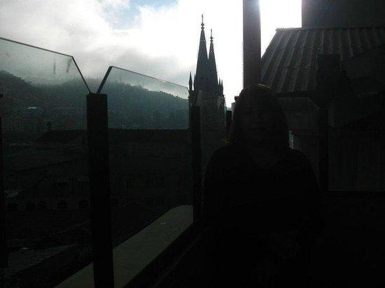 Hotel Cordillera Real : Vista matutina desde el 4° piso del Hotel