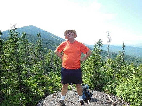 Sugarloaf Mountain Hotel : Hiking on Burnt Mountain overlooking Sugarloaf Mountain