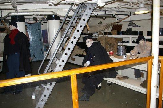 HMCS Sackville: Forward Mess