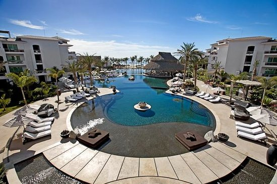 Cabo Azul Resort: Tri level pool (from resort website)
