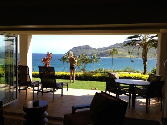 Marriott's Kauai Lagoons - Kalanipu'u: Room with a view!