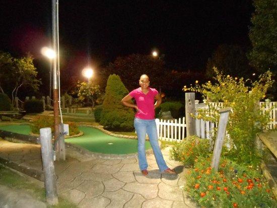 Weatherdeck: The Mini Golf area