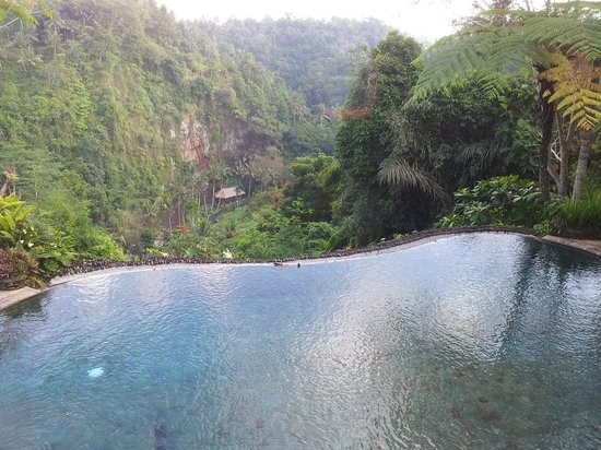 The Royal Pita Maha: Private pool with a view.