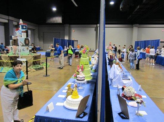 Lexington Convention Center: Exhibición de pasteles