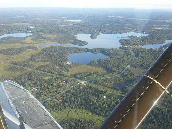 Alaska Funny Moose: View from the flyout - on the way to getting the Silvers
