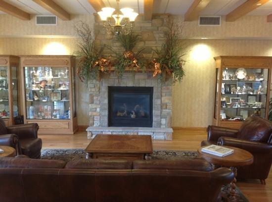 The Marv Herzog Hotel: the hotel lobby