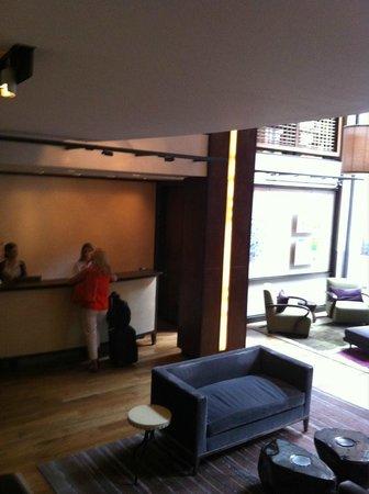 Chambers Hotel : recepção