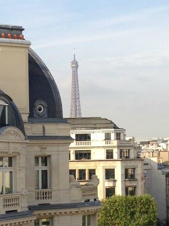 Warwick Paris: View from the balcony