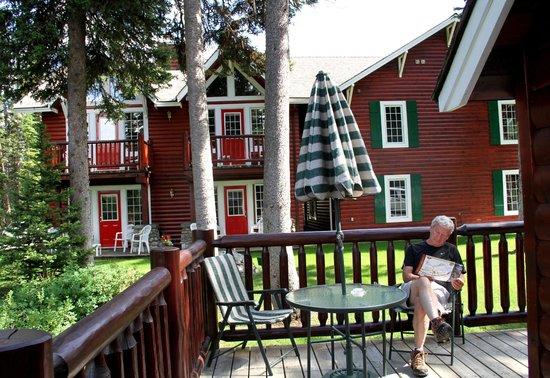 Paradise Lodge & Bungalows: Our Deck