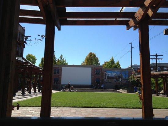 Fairhaven Historic District: Outdoor cinema