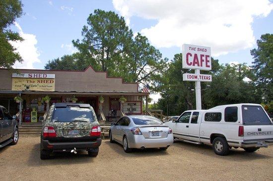 Shed Cafe Edom Tx