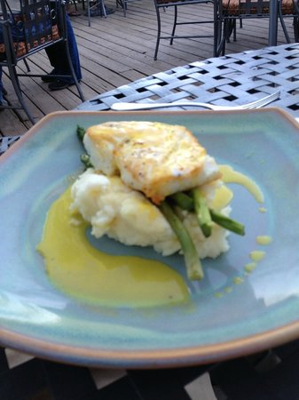 Alley House Grille : My husband's fish