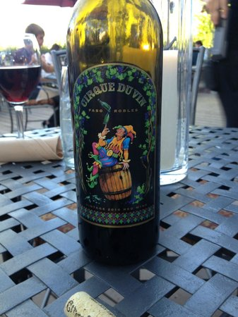 Alley House Grille : Peachy Canyons wine