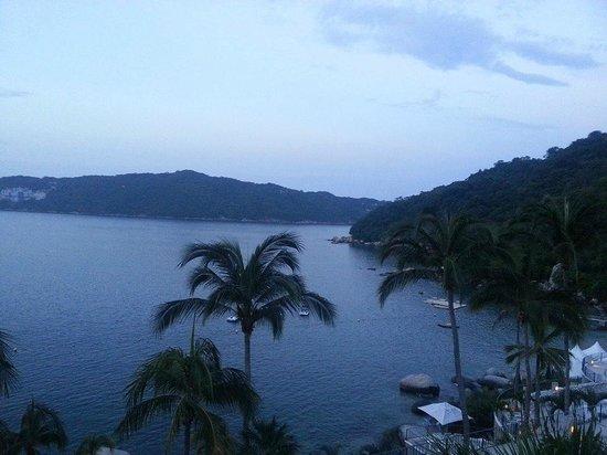 Camino Real Acapulco Diamante: Así se ve el amanecer desde una habitación en el Camino Real Diamante