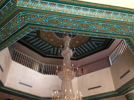 Mogador Palace Agdal: The hotel interior.
