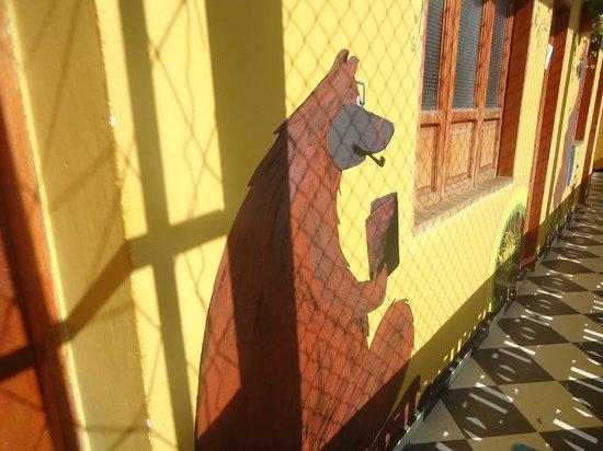 Hotel Oso Perezoso : Decoración