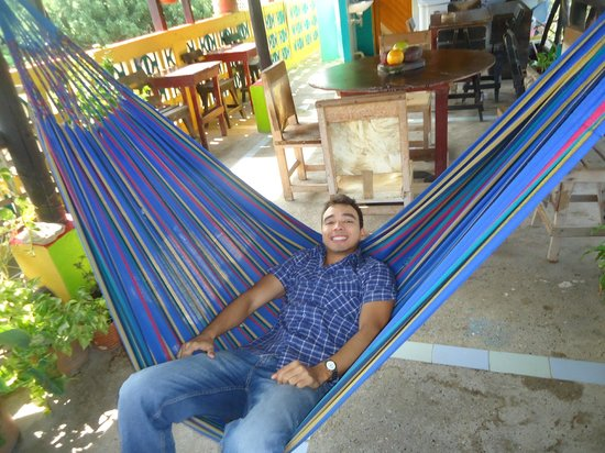 Hotel Oso Perezoso: Descanso en el restaurante