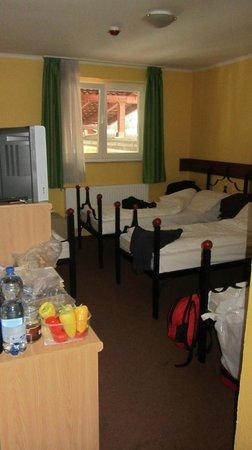Bagolyvar Guesthouse: Room #1 sleeping quarters