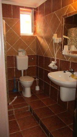 Bagolyvar Guesthouse: Room #1 bathroom