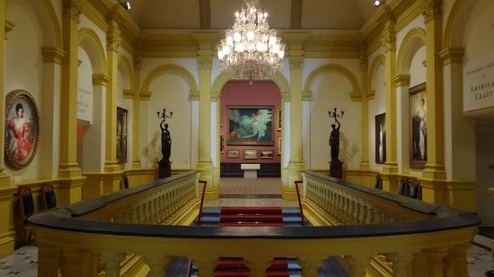 Renwick Gallery: Upstairs foyer