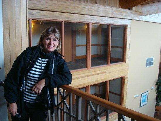 Banff Ptarmigan Inn: sacadas internas