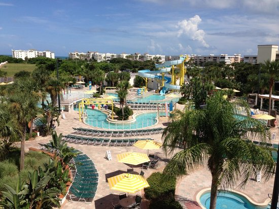 Holiday Inn Club Vacations Cape Canaveral Beach Resort: View of the water park