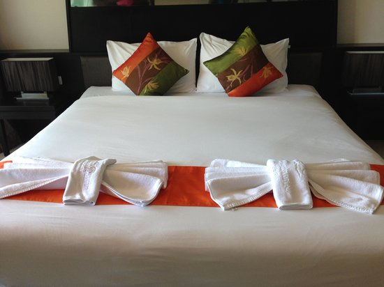 Ananta Burin Resort : Cozy bed