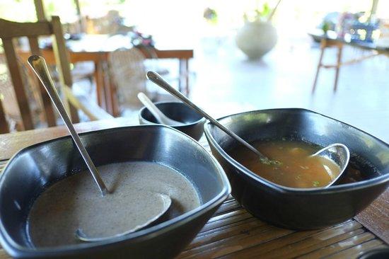 Sepilok Forest Edge Resort: Mushroom and Seafood Soup