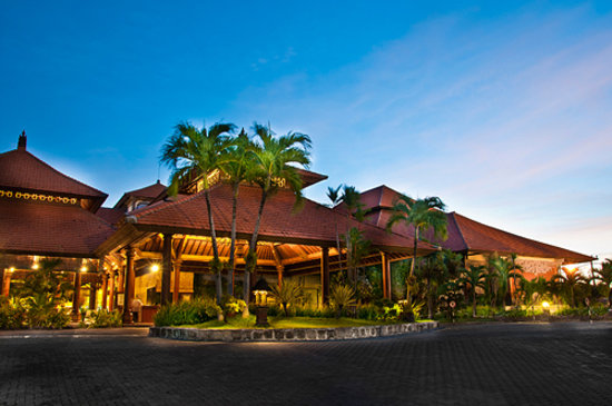 Sanur Paradise Plaza Hotel : Main Entrance