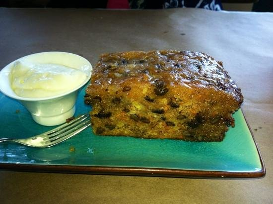 CityVu Bistro: Warm carrot cake is fantastic