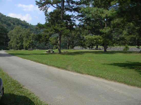 Fontana Village Resort : A view of the campgrounds.