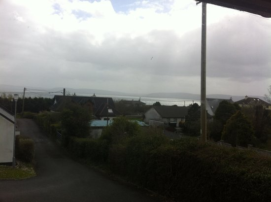 Galway Bay Cottages: View from living room.
