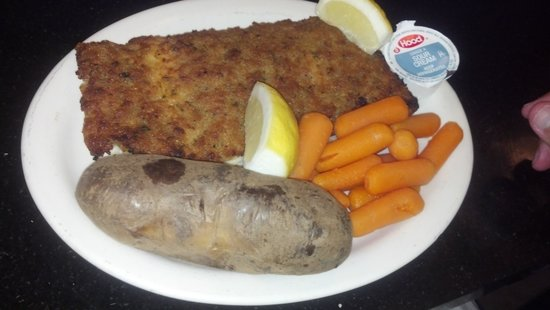Causeway Restaurant: Best Baked Haddock Ever!