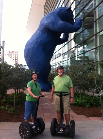 Rocky Top Glide: Denver Segway Tour Stop - Blue Bear at the Convention Center